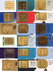 EMV smart card layout examples